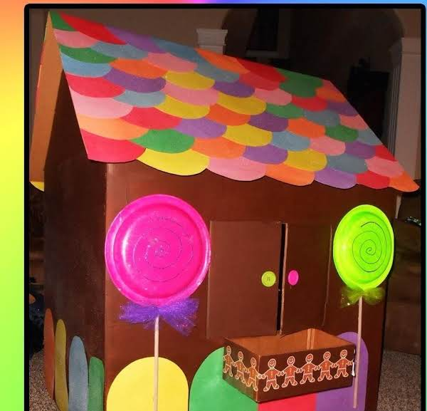 Cardboard Gingerbread Playhouse Recipe