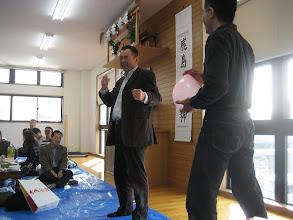 Photo: 松田先生も、風船です!