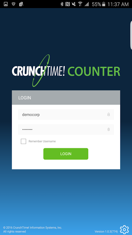 CrunchTime! Counter- screenshot