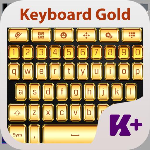 Keyboard Theme Gold 個人化 App LOGO-硬是要APP