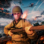 Game World War II FPS Shooting : Heroes of War apk for kindle fire
