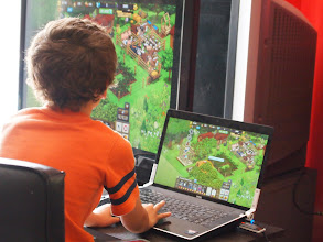 Photo: My boy playing