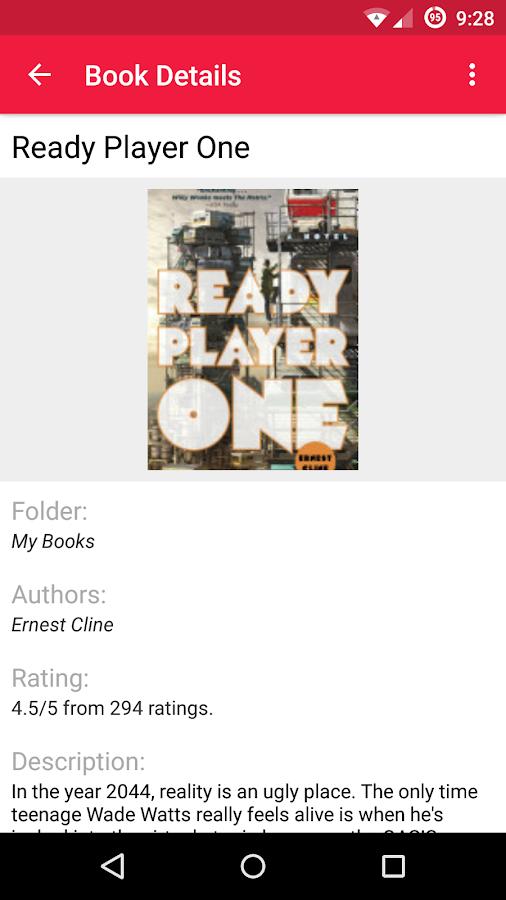 To Read – Reading List- screenshot