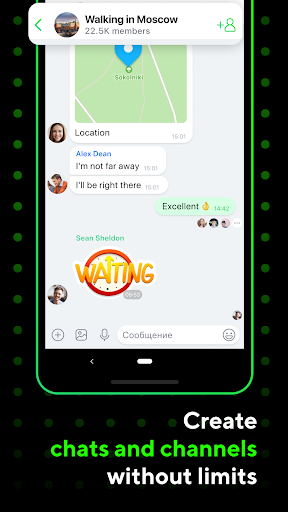 ICQ Messenger: Video Calling App & Chat Rooms 9.9.1(824703) Screenshots 5