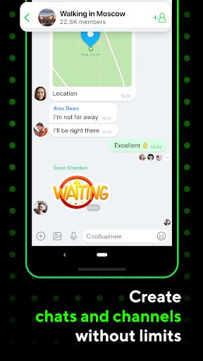 ICQ Messenger: Video Calling App & Chat Rooms 9.13.1(824718) screenshots 5