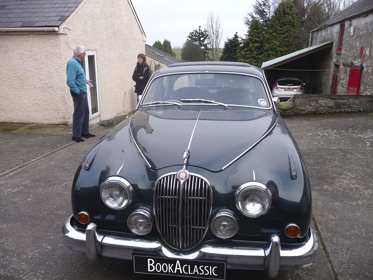 Jaguar Mark 2 Hire Bangor