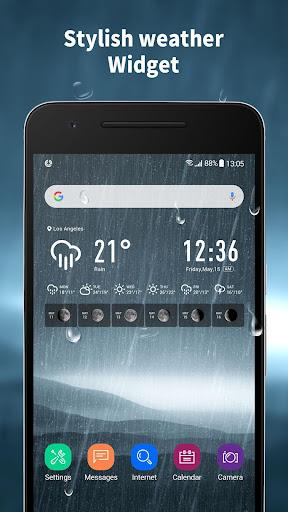 World weather widget& moon phrase information 12.1.5.3550 screenshots 2