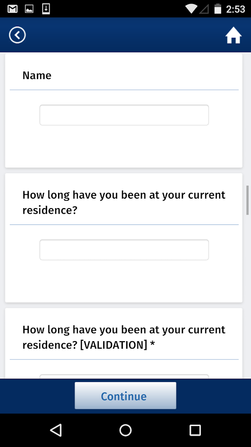 SurveyPocket - Offline Surveys- screenshot