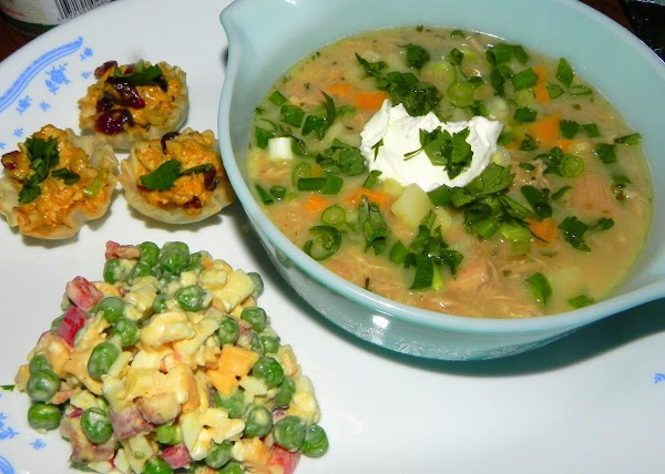 Made this today 10-28-12 for my little Momma, Jeanie's Bday. We had chicken chili,...