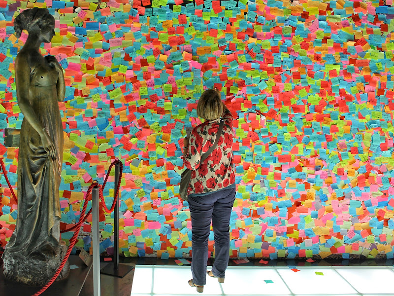 Riempire lo spazio di Post-it di GVatterioni