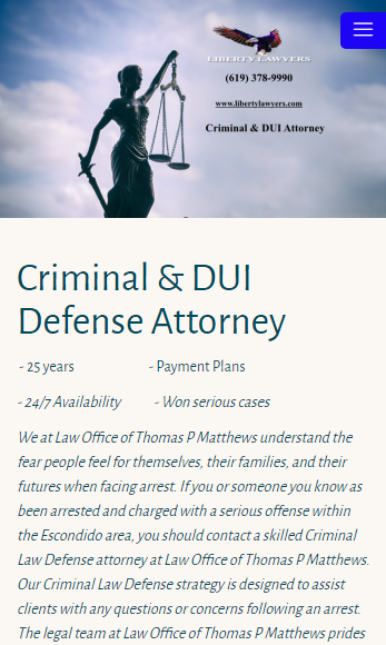 Liberty Lawyers Criminal & DUI- screenshot