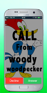 Call From woody woodpecker Video - náhled