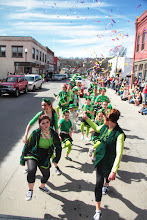 Photo: St. Paddy's Parade is combined with Mardi Gras Celebration in Excelsior Springs Missouri.