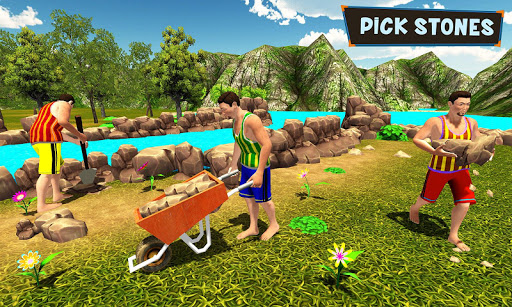 Primitive Technology: Fish Pond Building Sim 1.0 screenshots 3
