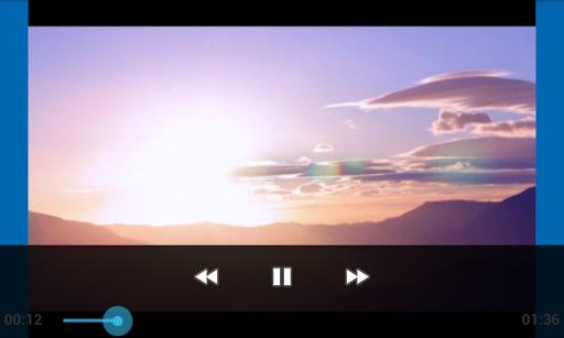 UHD Video Player Playback