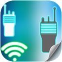 Two way radios Way Walkie icon