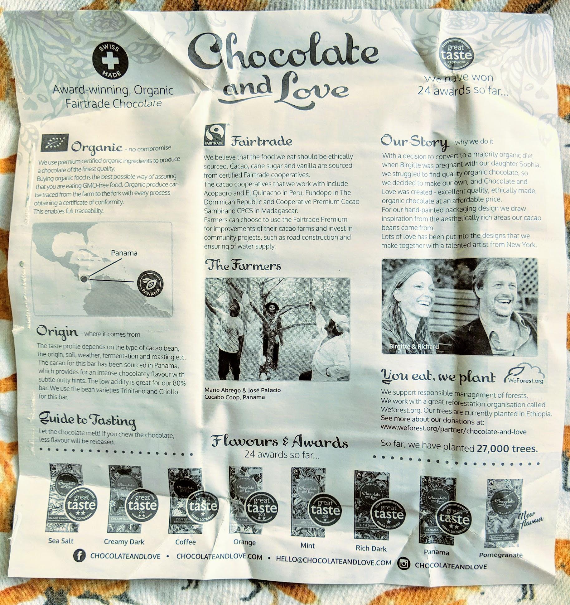 80% panama by chocolate and love