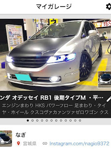 オデッセイ RB1 後期タイプM ・平成18年式のカスタム事例画像 なぎさんの2018年12月16日02:05の投稿