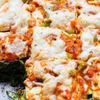 Vegan Zucchini Kale Lasagna.