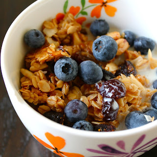 Olive Oil Granola With Coconut And Cherries