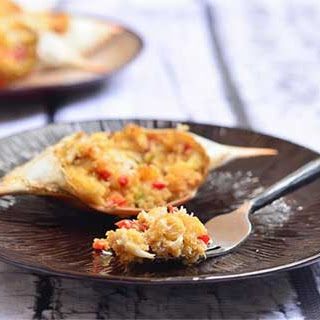 Rellenong Alimasag (Baked Stuffed Blue Crab)
