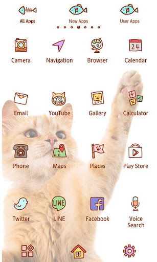 Cute wallpaper-Playful Cat- 1.0.1 Windows u7528 2