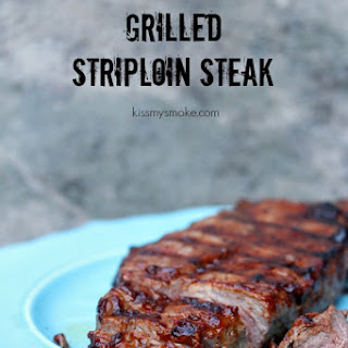 Grilled Striploin Steak (New York Strip Steak)
