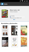 Screenshot of Nubico: eBooks y revistas