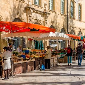 Aix Market by Andrew Moore - City,  Street & Park  Markets & Shops (  )