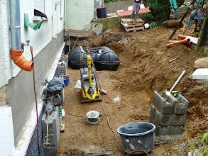 Photo: Baustelle vor der Haustür von aussen