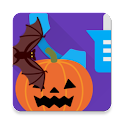 Halloween On-Screen Frame