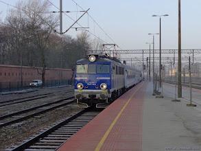 """Photo: EP07-1012, TLK """"Wieniawski"""" Bydgoszcz Główna - Lublin {Toruń Główny; 2015-02-20}"""