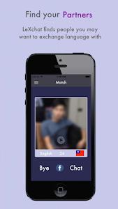 LeXchat - Make Foreign Friends screenshot 1