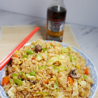 Pressure Cooker Fried Rice.