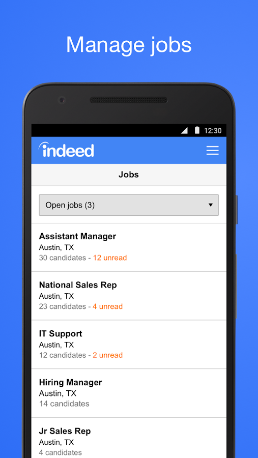 indeed employer android apps on google play