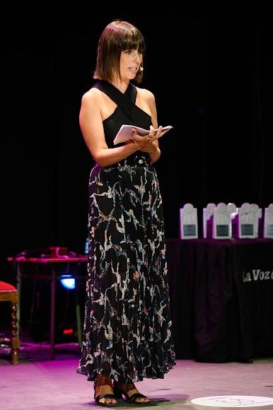 Marta Rodríguez, periodista de LA VOZ, ha conducido la gala.