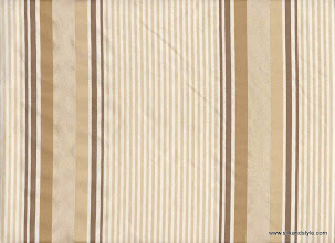 Photo: Kanpur 23 Stripes - 100% Silk Taffetta