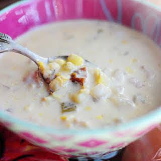 Corn Chowder with Chilies.