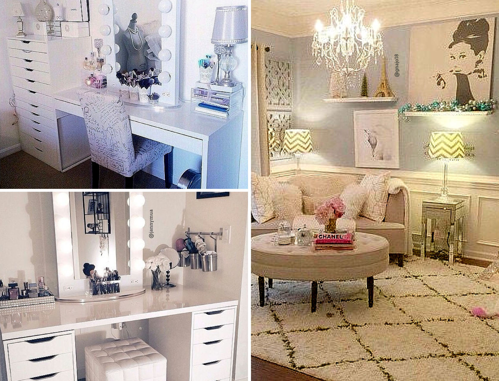Blogger Beauty Room Checklist & Resource Guide on Makeup Room  id=77252