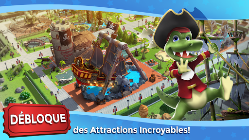 RollerCoaster Tycoon Touch - Parc d'attractions  captures d'u00e9cran 2