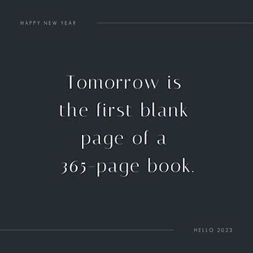 The First Blank Page - Instagram Post Template