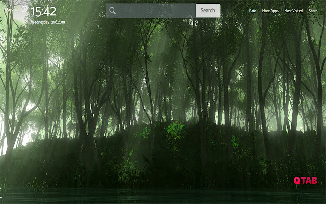 Forest Wallpapers New Tab Theme