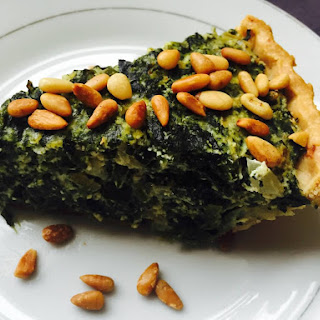 Florentine Pie with Pine Nuts From Alexandersmom.Com Recipe