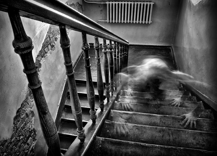 the end by Dainius Ščiuka - Abstract Fine Art