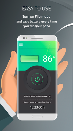 Battery Saver & Charge Optimizer - Flip & Save 1.1.50 screenshots 1