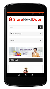 StoreNextDoor- screenshot thumbnail