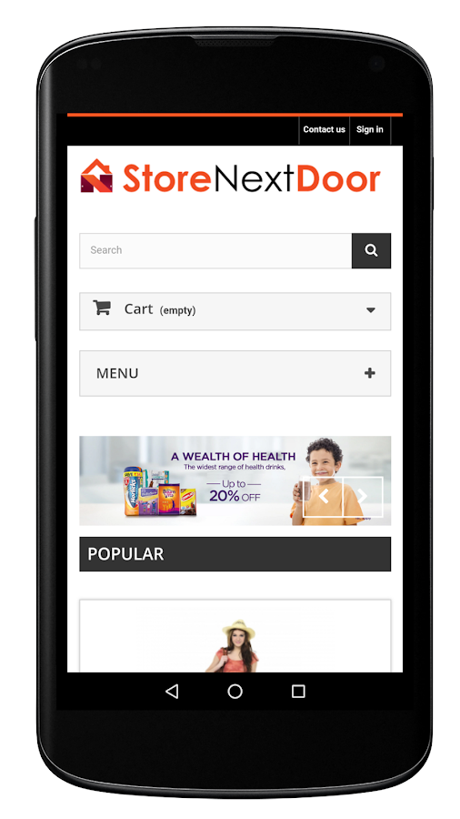 StoreNextDoor- screenshot