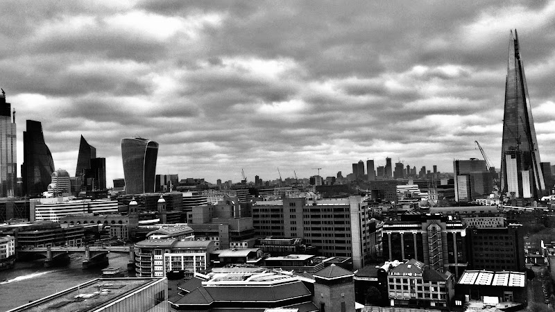 London from the Tate Museum  di Bass