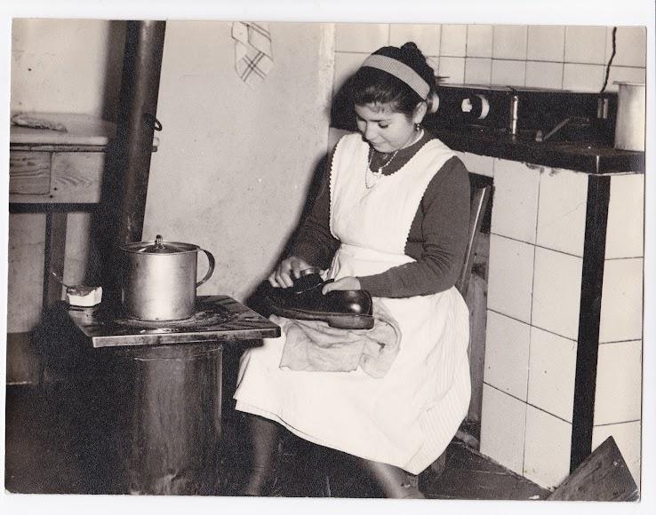 Niña criada en Almería en los años 50 (Foto: Colección Museos de Terque).