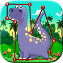 Dinosaur Kids Connect the Dots icon